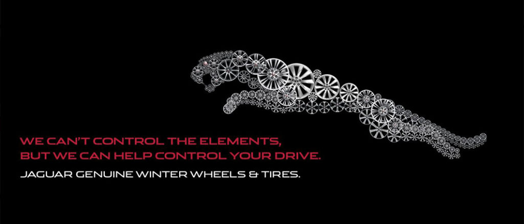 Jaguar Thornhill Genuine Winter Wheels and Tires