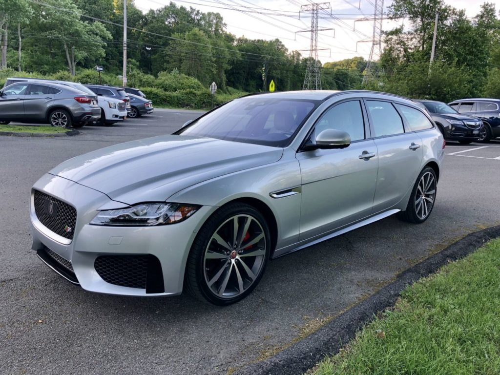 The coolest cars right now are wagons: Jaguar XF Sportbrake