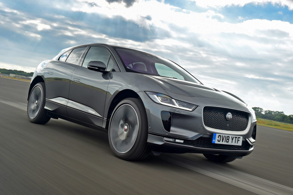 Jaguar I-PACE earns a five-star review