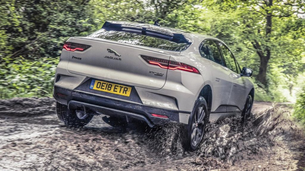 Top Gear's big Jaguar I-PACE test part two: Will it off-road?