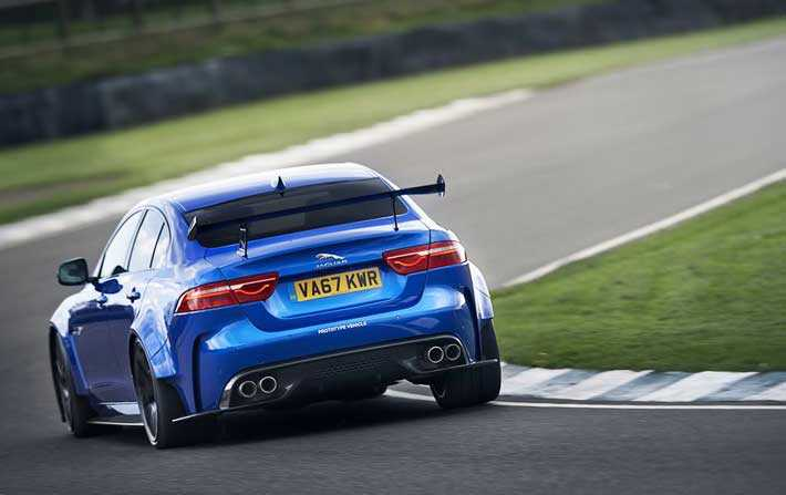 Jaguar XE SV Project 8 mention