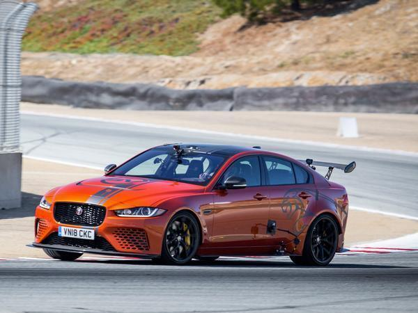 Jaguar claims Project 8 lap record at Laguna Seca
