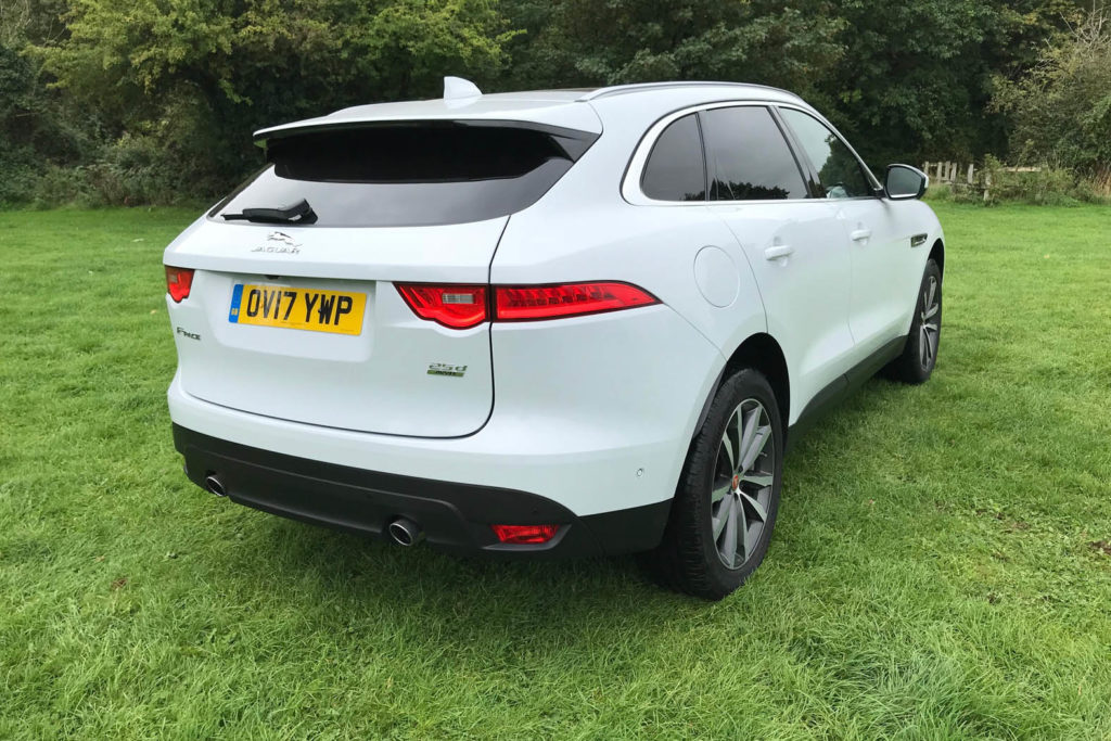 Jaguar F-PACE Portfolio 2.0D AWD review