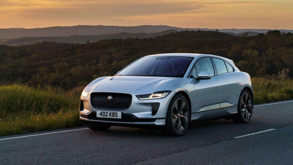 The Jaguar I-PACE EV made up nearly ten per cent of Jaguar's sales last month