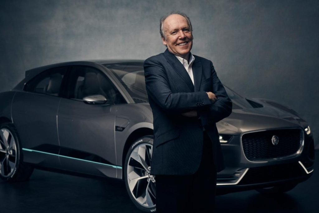 Jaguar's Director of Design boss scores automotive icon award