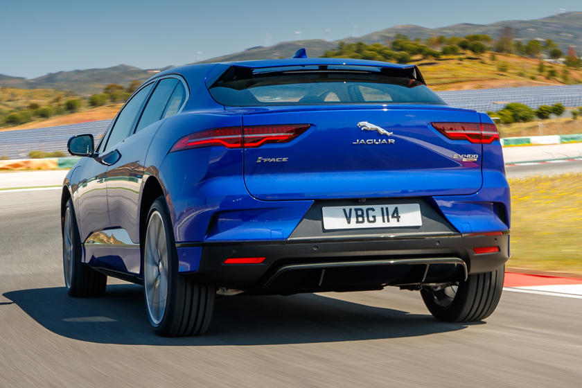 Jaguar I-PACE electric crossover sales are taking off