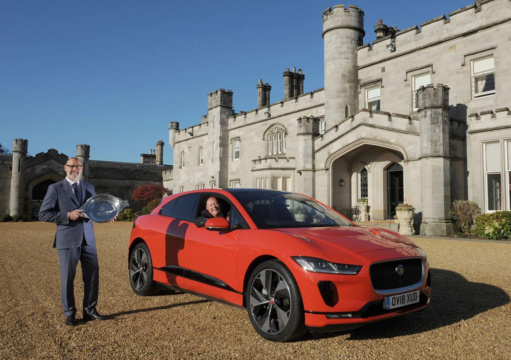 Jaguar I-PACE wins 2018 Scottish Car of the Year