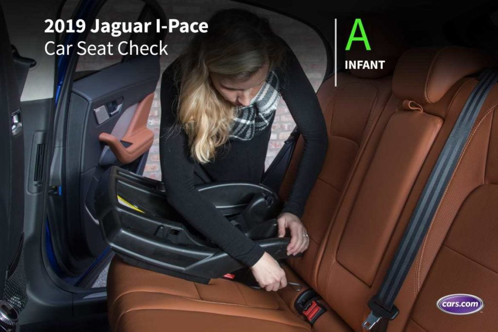 How do car seats fit in a 2019 Jaguar I-PACE?