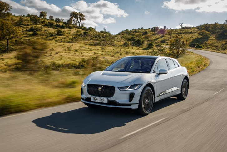 Jaguar I-PACE outsells the Jaguar XF