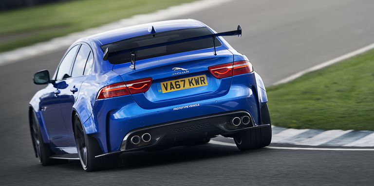 The Jaguar XE SV Project 8 is the angriest-sounding saloon you can buy