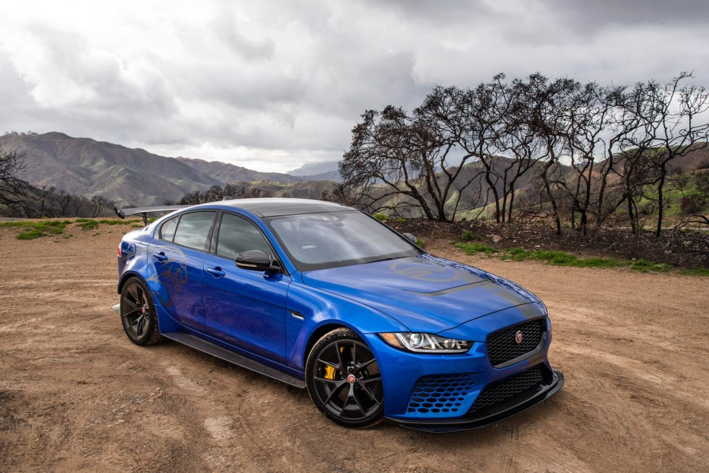 The 200mph Jaguar XE SV Project 8 is delightfully insane