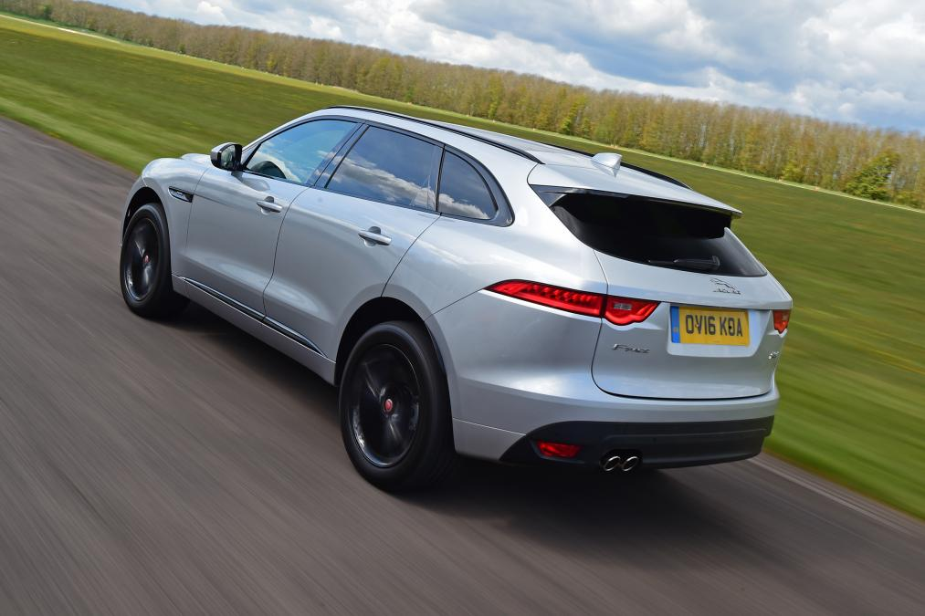 Jaguar F-PACE SUV review