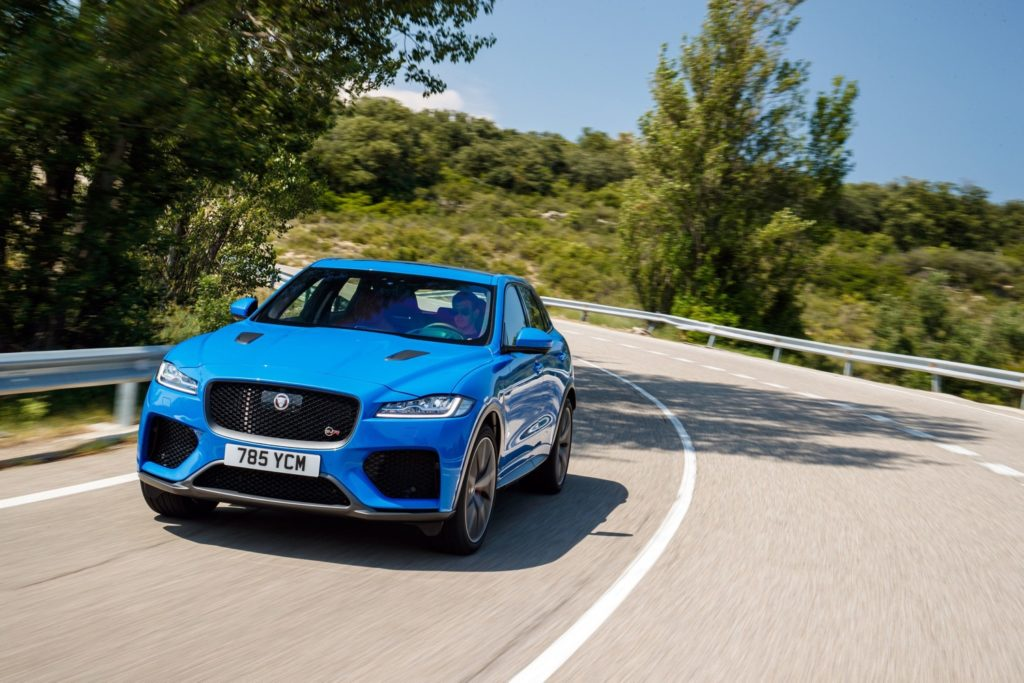 High-paced: Jaguar launches its first hot SUV