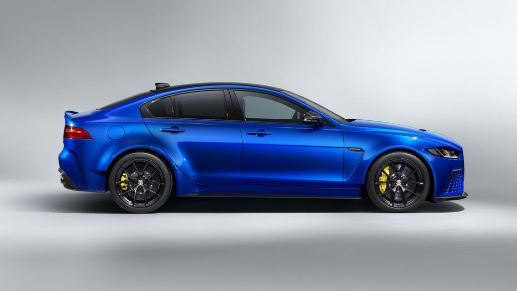 Does the Jaguar XE SV Project 8 look better without a giant spoiler?