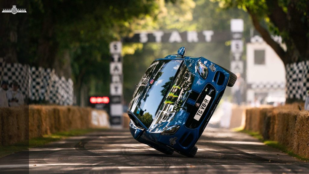 Goodwood's favourite daredevil is still living on the edge