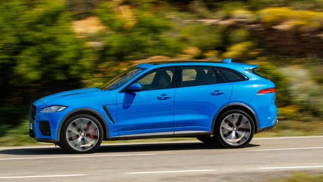 Move Over Porsche Macan Turbo, the Jaguar F-Pace SVR Is Ready for Its Close-up