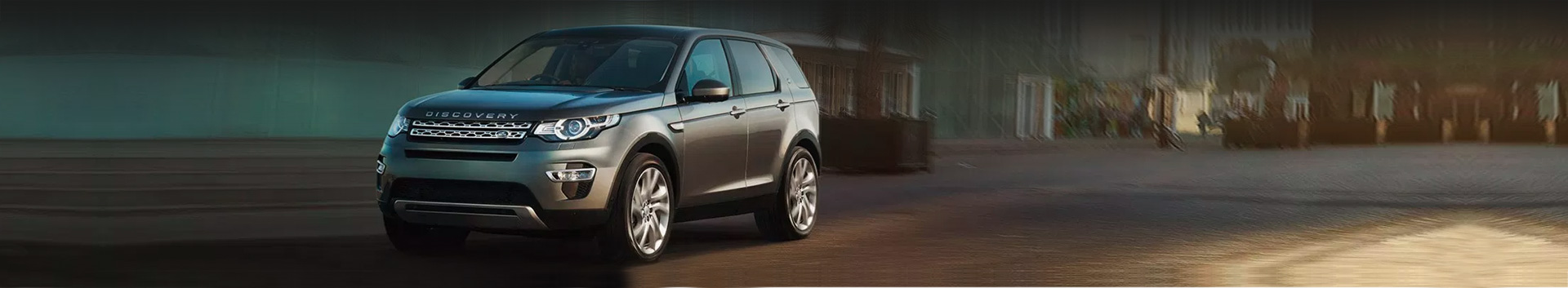Finance your next Land Rover with us