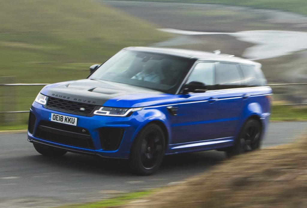 Hot SUV twin test: Porsche Cayenne Turbo vs Range Rover Sport SVR