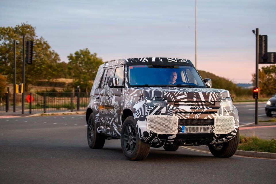New Land Rover Defender 'spyshot' pictures teased at Paris Motor Show