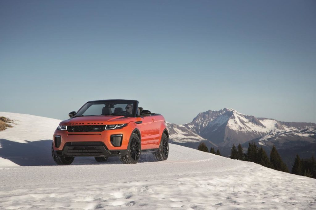 The best winter-ready roadsters: Evoque Convertible