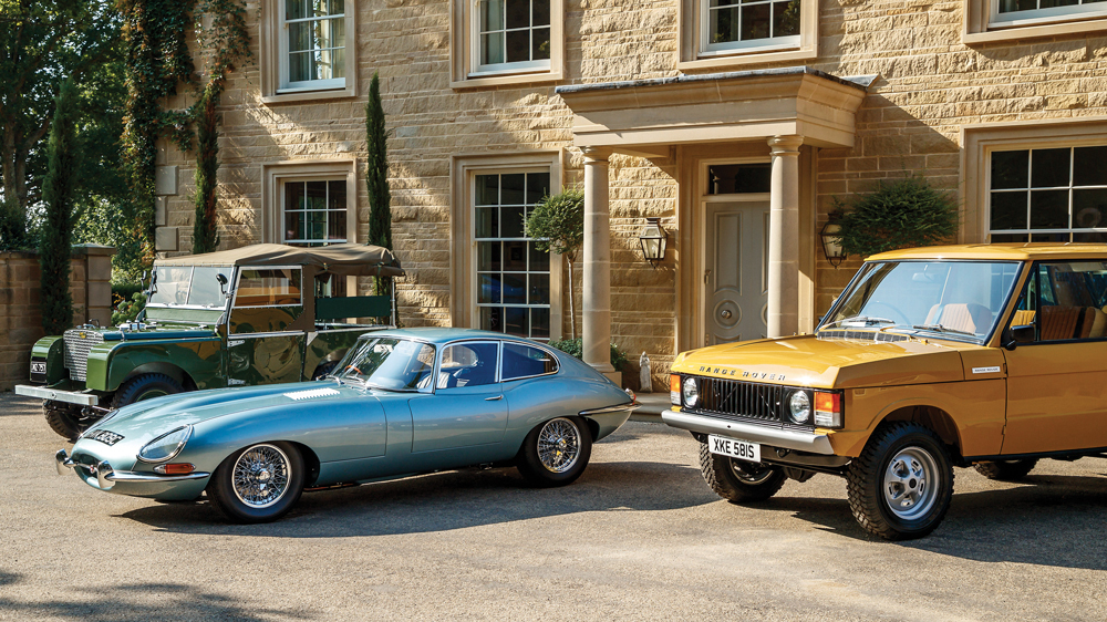 Jaguar Land Rover breathes new life into some of its oldest beauties