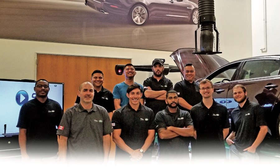 Vets make good service techs for Jaguar