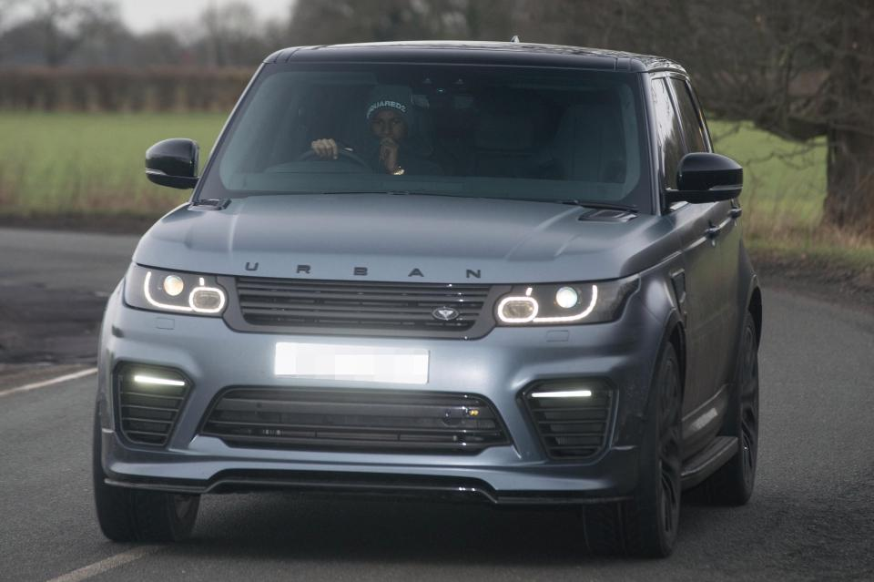 Report: Marcus Rashford's luxurious car collection