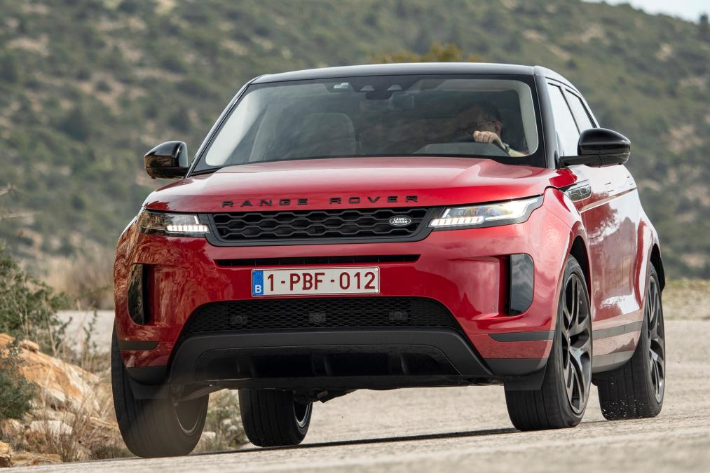 Evoque still top of the Range