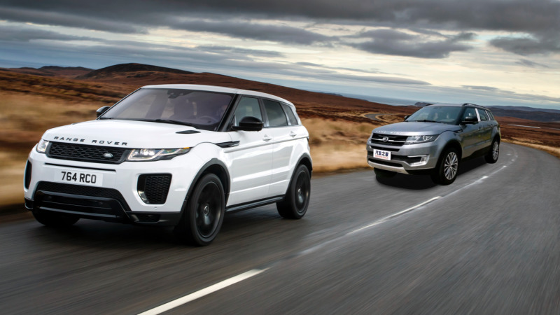 Legal victory for Jaguar Land Rover over Chinese Evoque copy