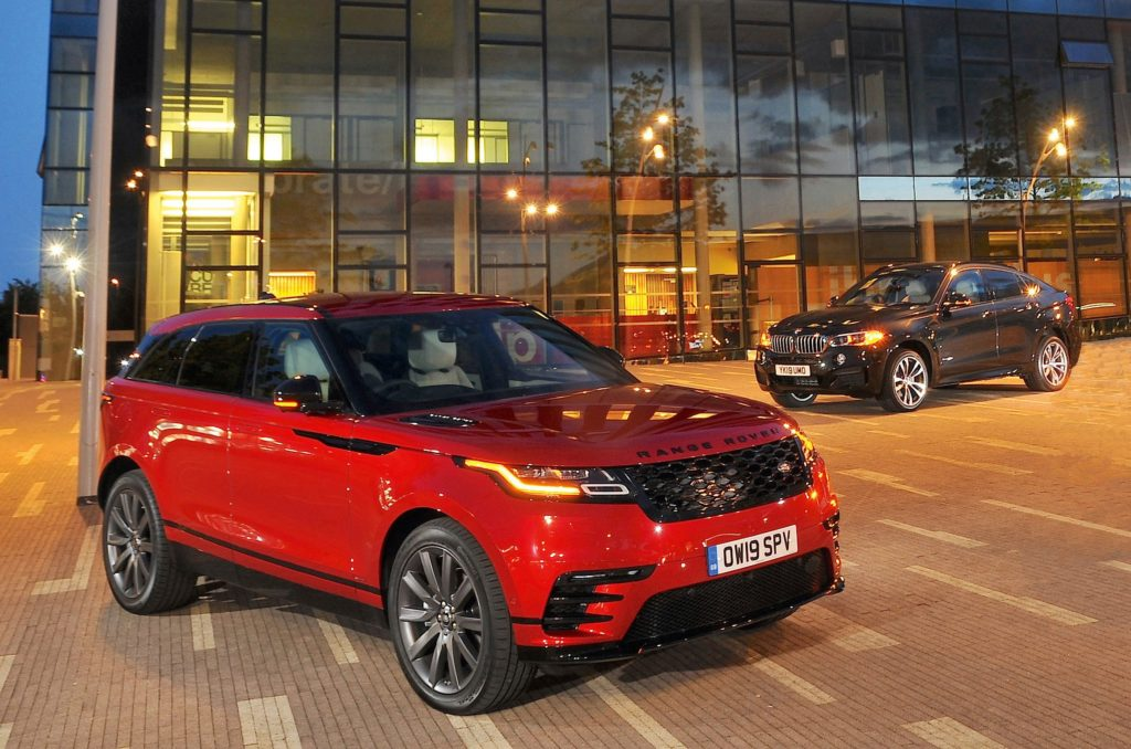Comparison: Range Rover Velar vs BMW X6