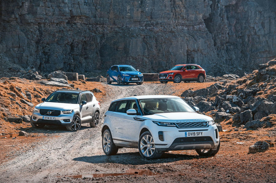 SUV showdown: Range Rover Evoque vs major rivals