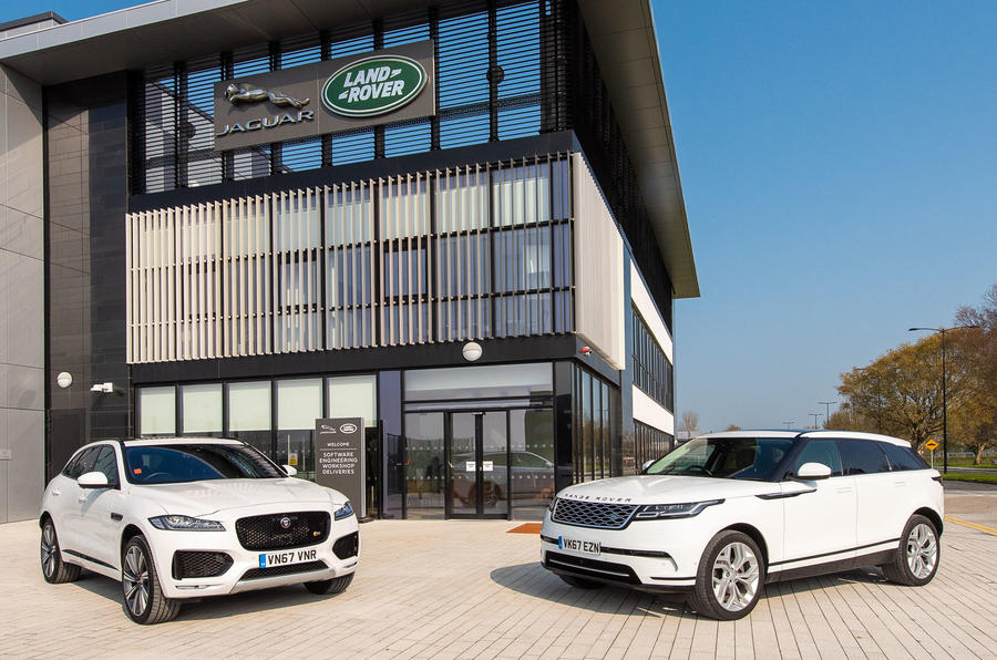 Jaguar Land Rover details plans to pay drivers for updates