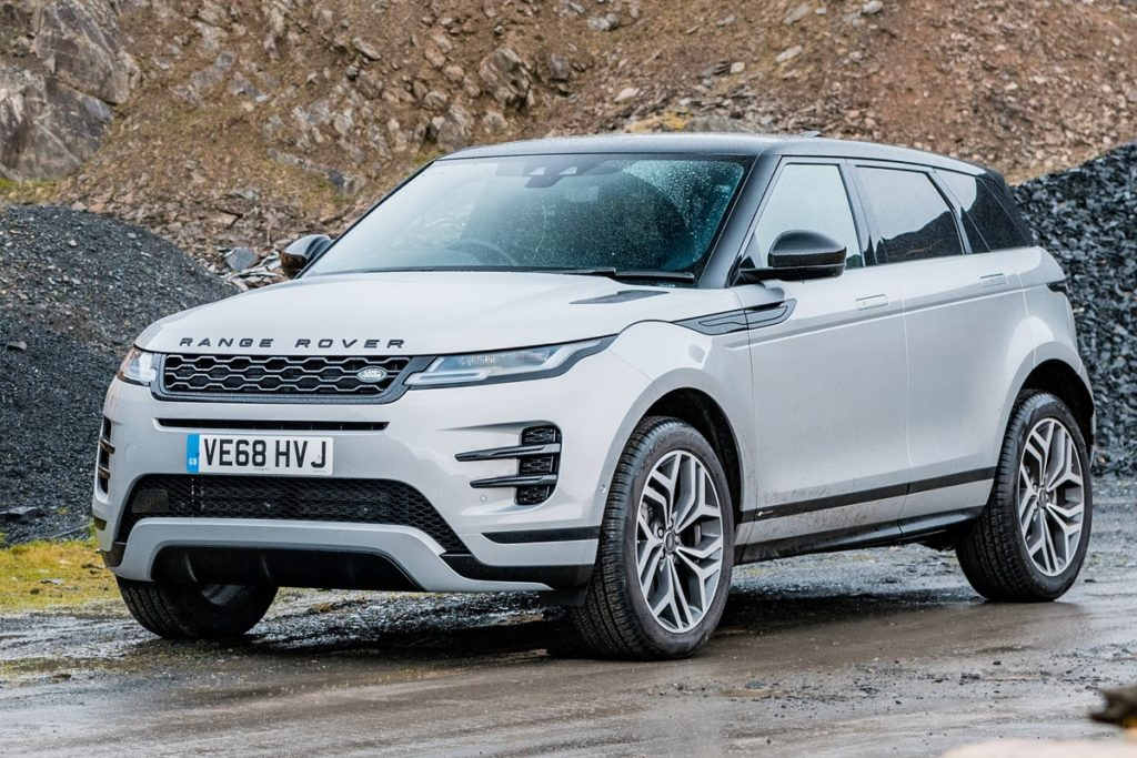 New Range Rover Evoque: cameras help to remove SUV blind spots