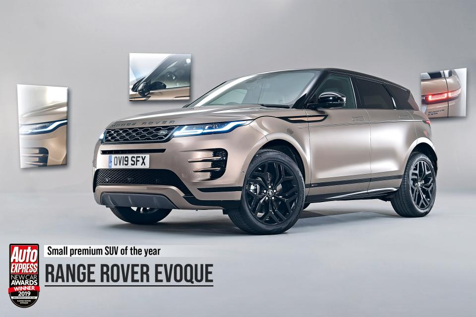 Small Premium SUV of the Year: Range Rover Evoque