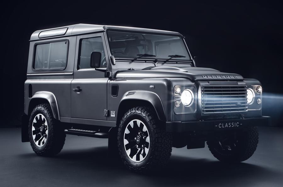 Land Rover Classic launches Defender upgrade kits