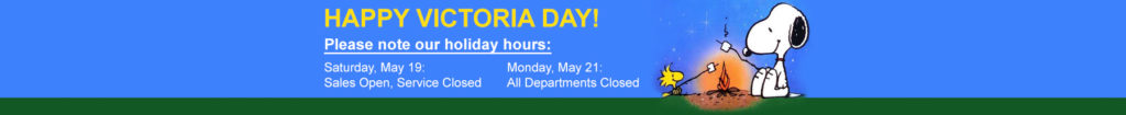 Holiday Hours Victoria Day 2018