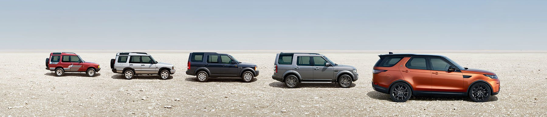 Land Rover Discovery From Oldest to Newest