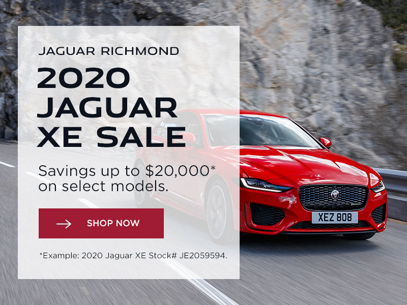 Jaguar Richmond 2020 Jaguar XE Sale