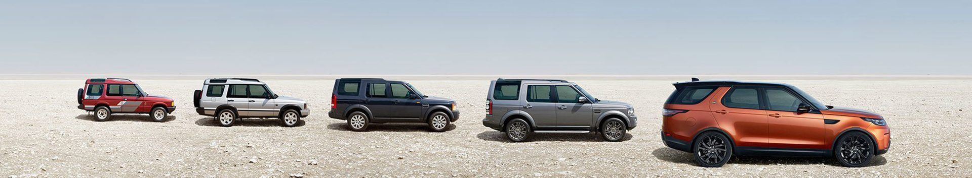 Land Rover Discovery Timeline