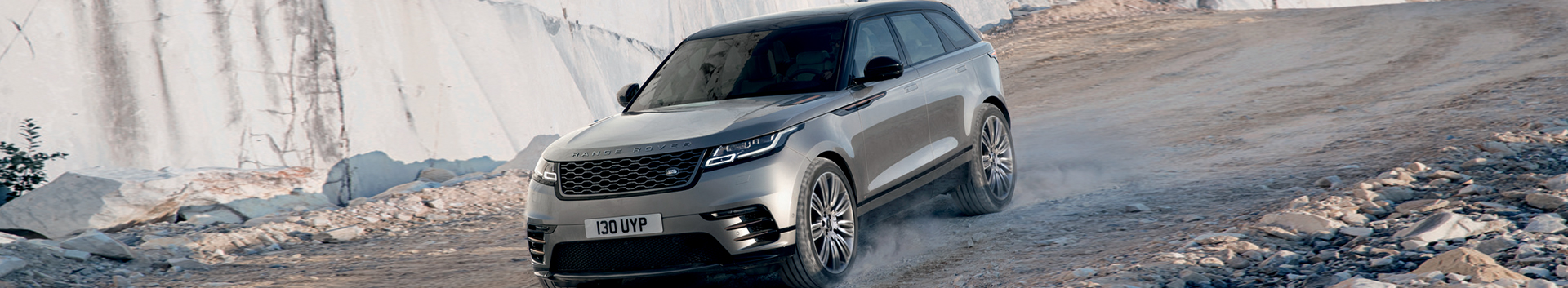 Land Rover Velar on rough roads