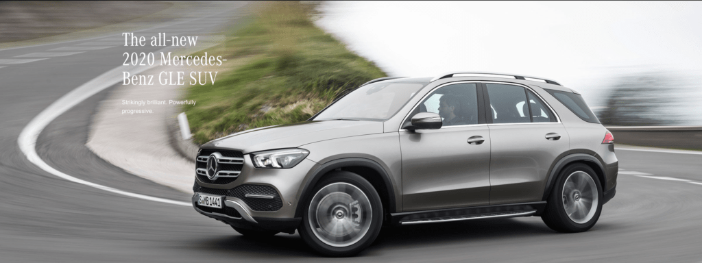 Meet the 2020 Mercedes-Benz GLE SUV