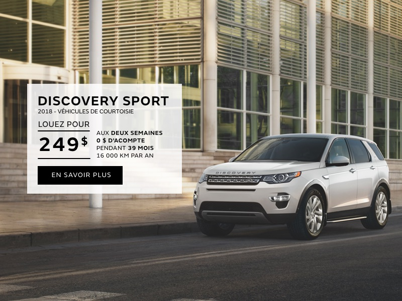 Discovery Sport Demos – juillet 2018 (mobile)