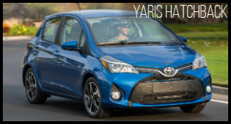 Toyota Yaris hatchback model