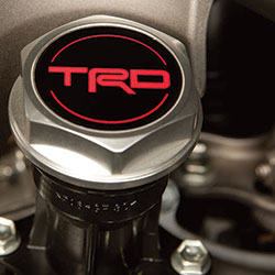 TRD Forged Aluminum Oil Cap
