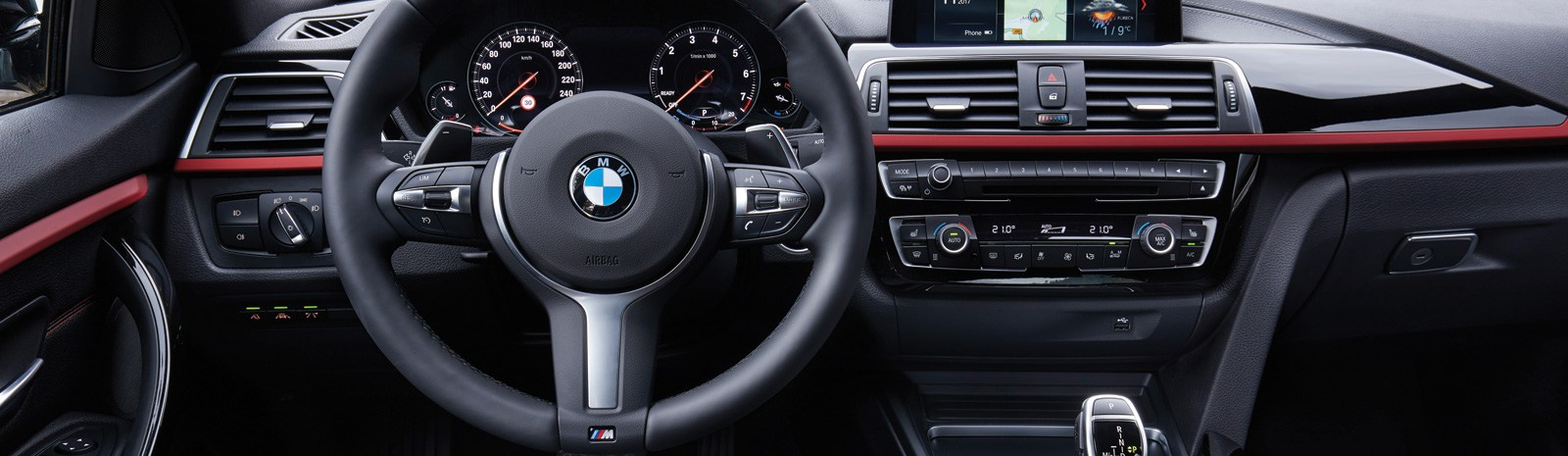 BMW vehicle interior
