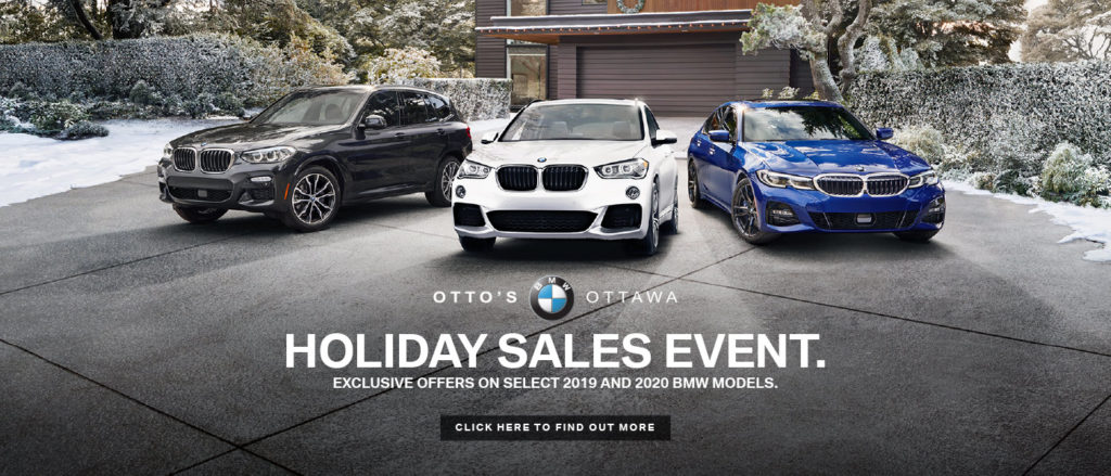 Otto's BMW Holiday Sales Event