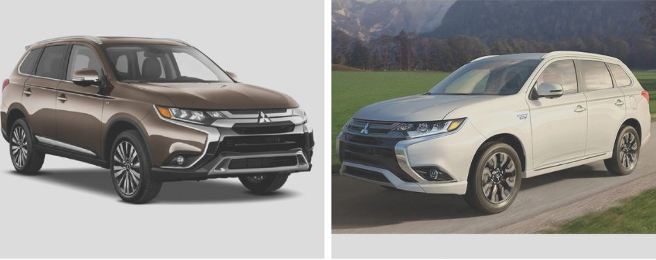 image of the Mitsubishi Outlander and Outlander PHEV