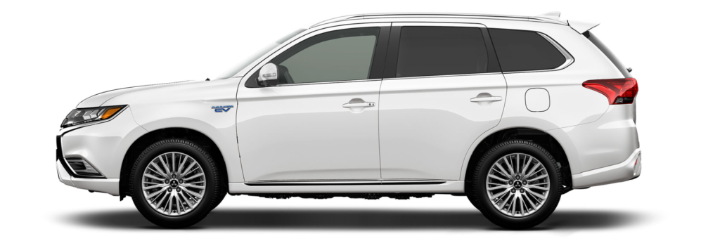 Mitsubishi Outlander PHEV side profile