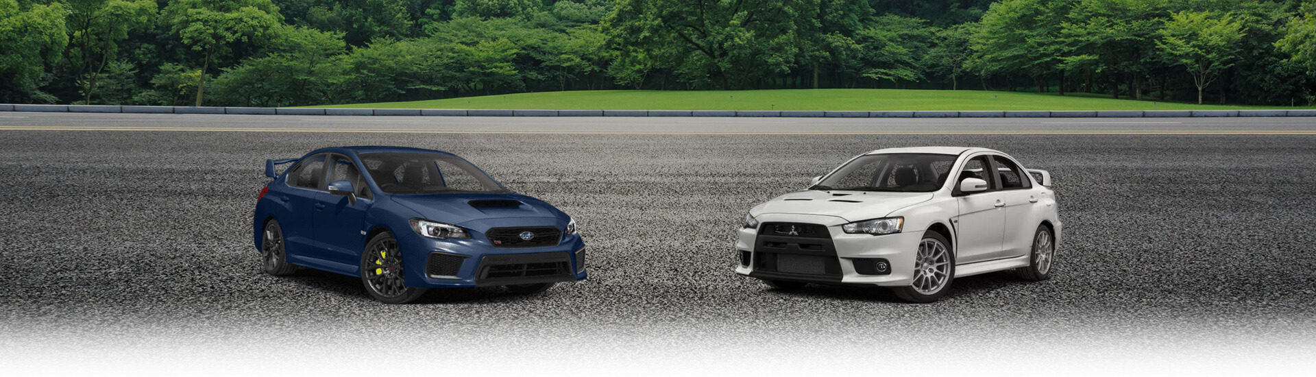 Mitsubishi Lancer Evolution vs Subaru WRX STI