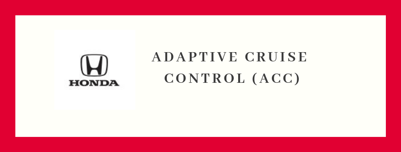 Adaptive Cruise Control Logo and Text